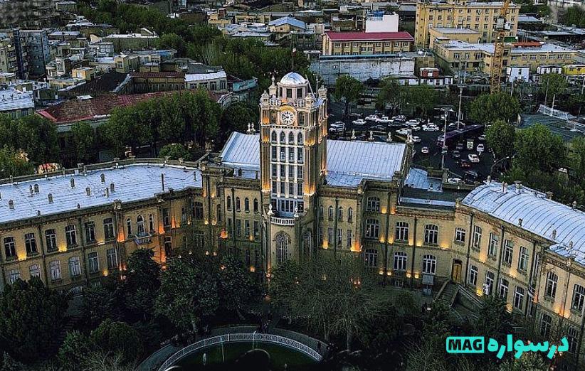 عمارت های تاریخی تبریز