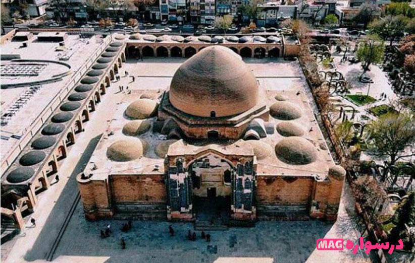 مسجد-کبود-درسواره
